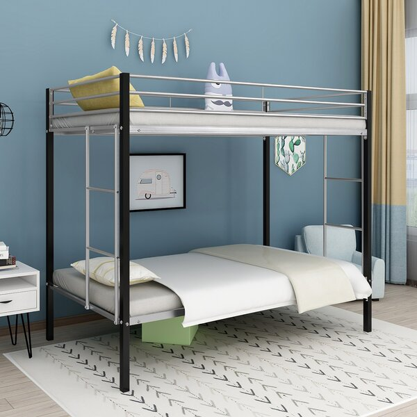Altman Sturdy Frame Twin over Twin Bunk Bed by Isabelle & Max