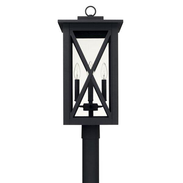 Aticus 4-Light 23.75 Lantern Head by Alcott Hill