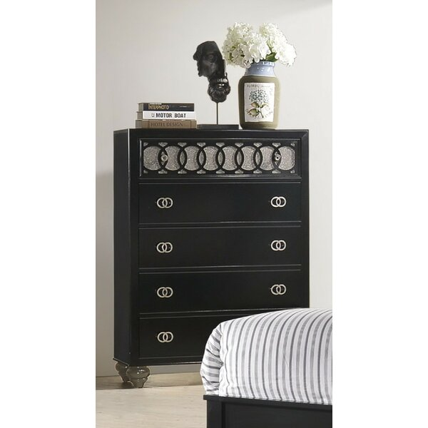 Gingrich 5 Drawer Chest by Everly Quinn