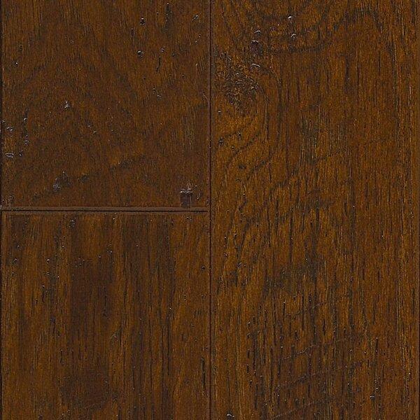 Americano 5 Engineered Hickory Hardwood Flooring in Ember by Welles Hardwood