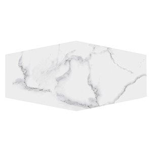 Winter Solstice 9.5 x 19.25 Porcelain Field Tile in White by Kellani