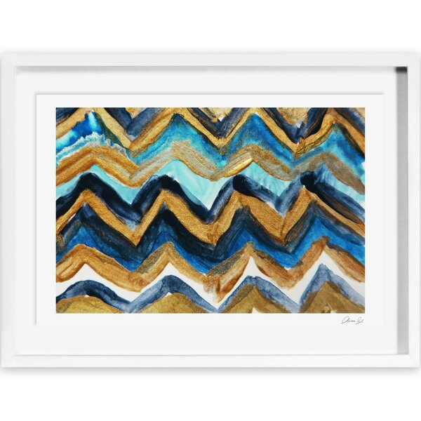 French Riviera Framed Painting Print by Wade Logan