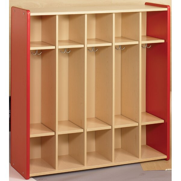 2000 Series 5 Section Coat Locker by TotMate