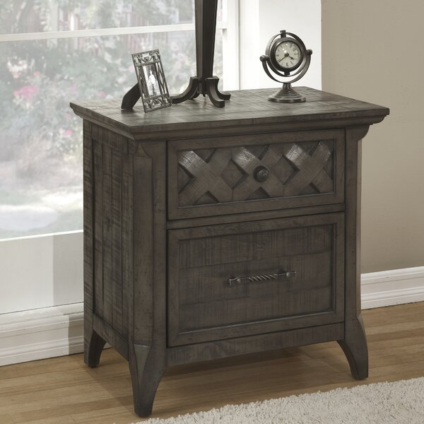 Jesse 2 Drawer Nightstand by Breakwater Bay