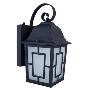 Order Isaac 1-Light Outdoor Wall Lantern By Whitfield Lighting
