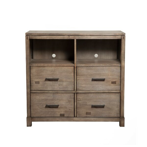 Bonifant TV 4 Drawer Media Chest by Foundry Select