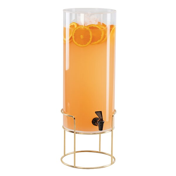 Lentz Round 384 Oz. Beverage Dispenser by Latitude Run