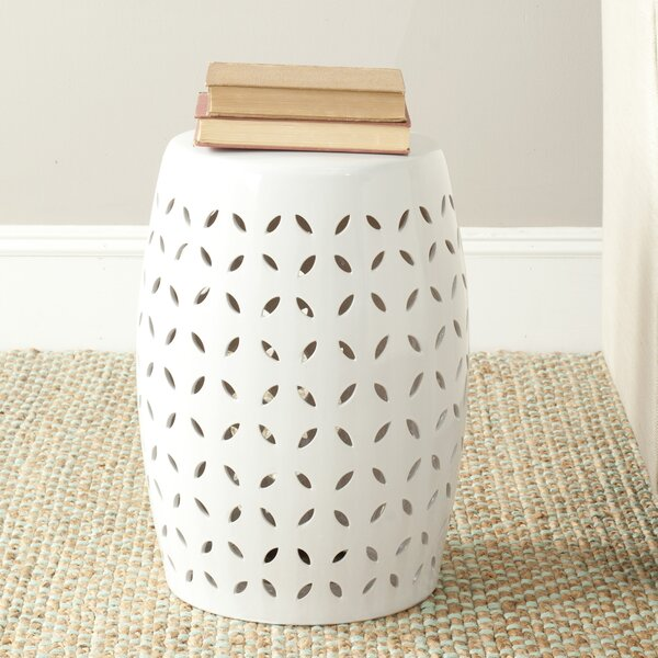 Feliciana Ceramic Garden Stool by Wrought Studio