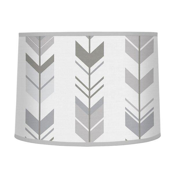 Mod Arrow 10 Fabric Drum Lamp Shade by Sweet Jojo Designs
