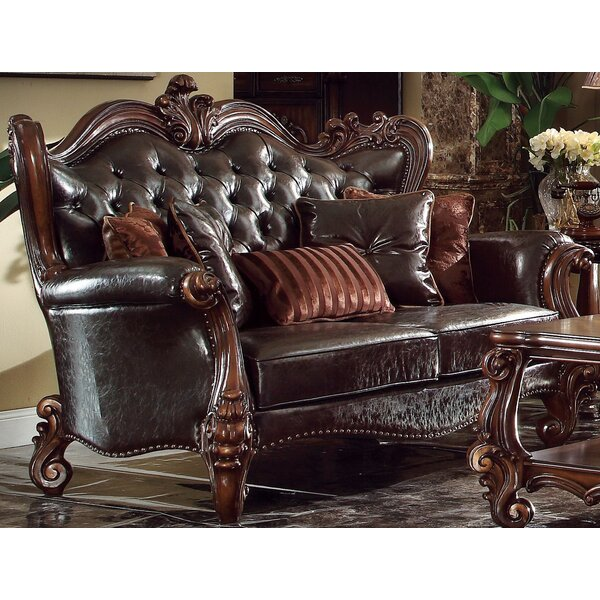 Medley Standard Loveseat with 5 Pillows by Astoria Grand
