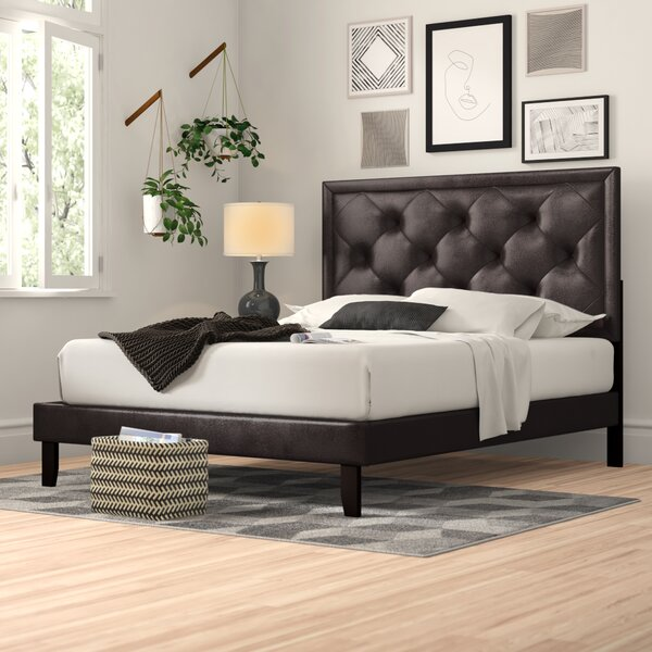 Cynthia Upholstered Standard Bed by Zipcode Design