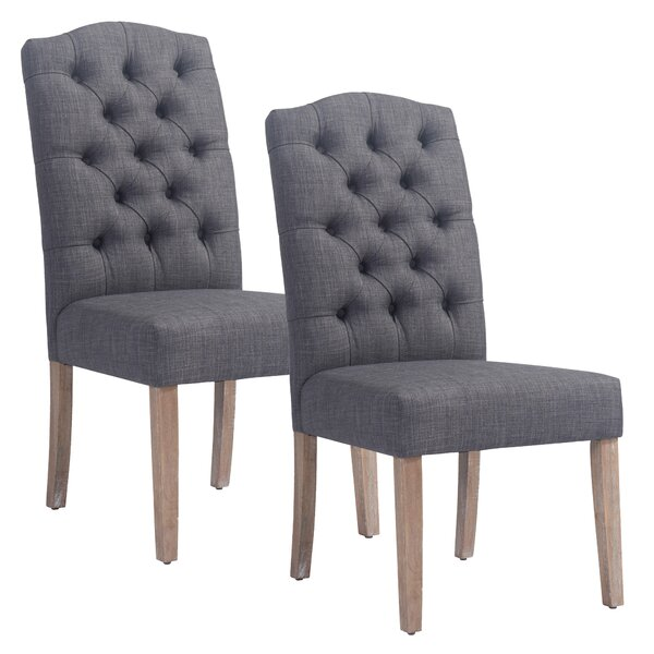 Adan Upholstered Dining Chair (Set of 2) by !nspire