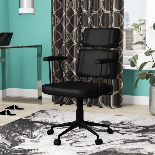 Suzette Adjustable High-Back Desk Chair by Zipcode Design