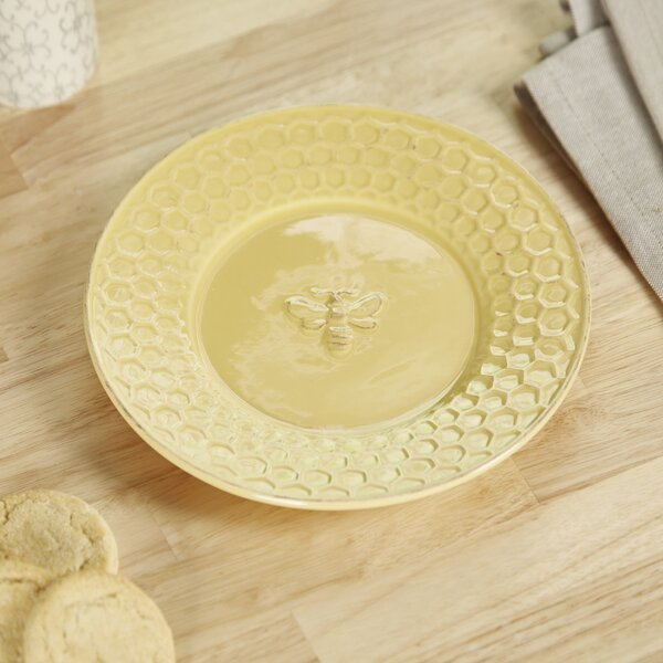 Honey and Comb Salad Plate by Birch Lane™