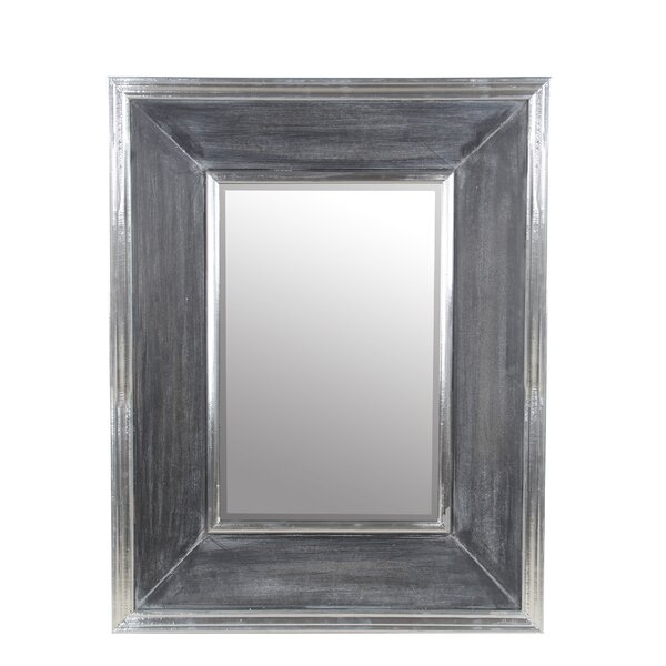 Rectangular Beveled Accent Wall Mirror by Rosecliff Heights
