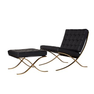 Leonel Lounge Chair and Ottoman
