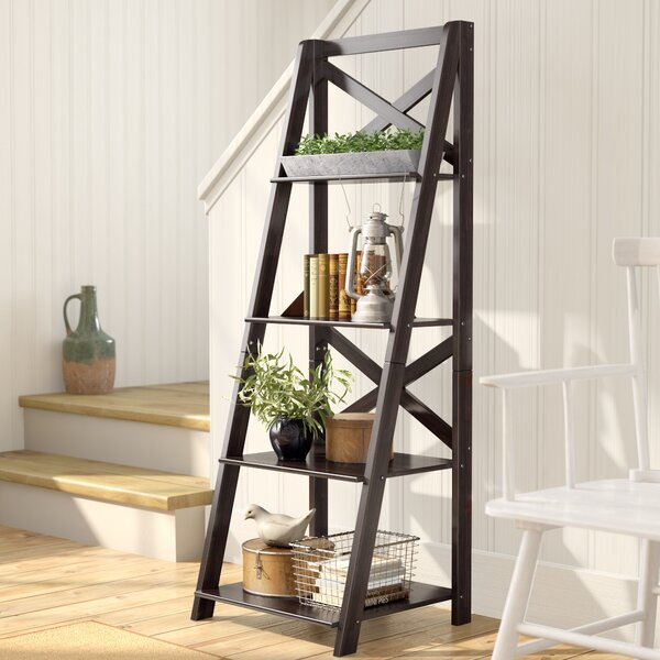Kaitlyn Ladder Bookcase By Laurel Foundry Modern Farmhouse.