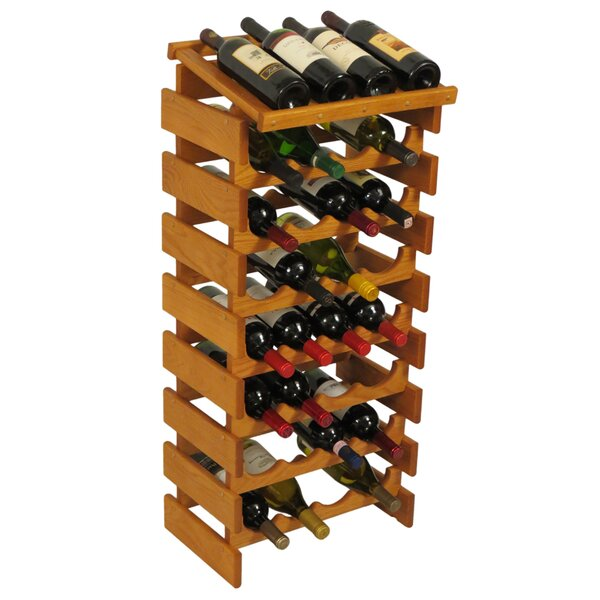 Geis 32 Bottle Floor Wine Bottle Rack by Symple Stuff Symple Stuff