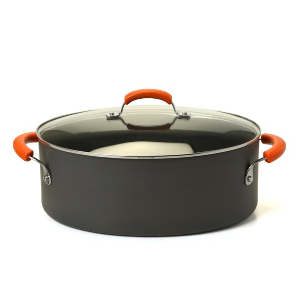 Hard Anodized 8 Qt. Stock Pot with Lid by Rachael Ray