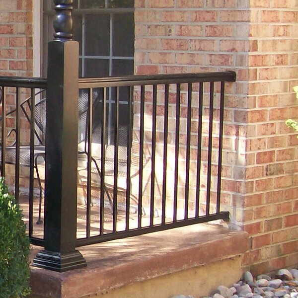 3 ft. H x 4 ft. W Summit Straight Railing by Gilpin Inc