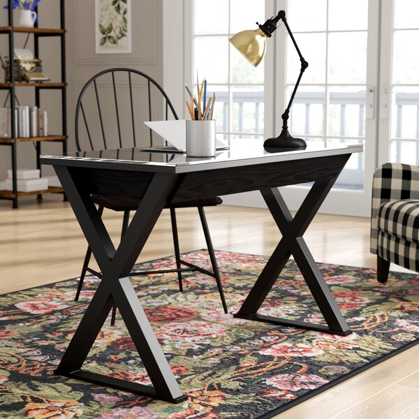Montclair Campaign Writing Desk by Latitude Run
