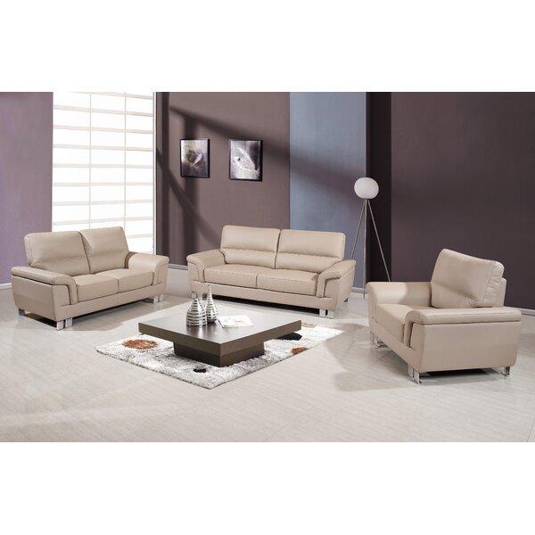 Hawker 3 Piece Living Room Set by Orren Ellis