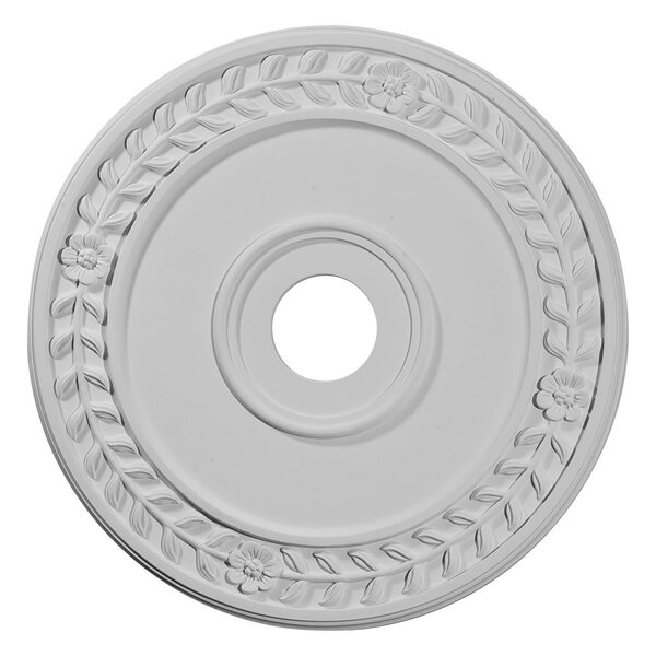 Wreath 21.13H x 21.13W x 0.88D Ceiling Medallion by Ekena Millwork
