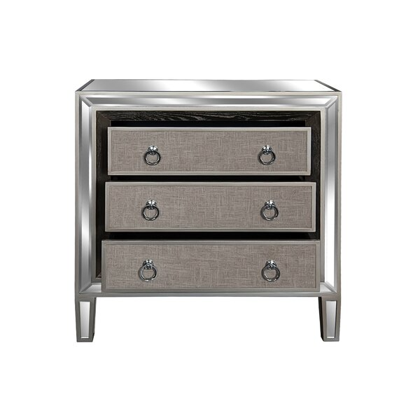 Mosteller 3 Drawer Accent Chest by House of Hampton House of Hampton