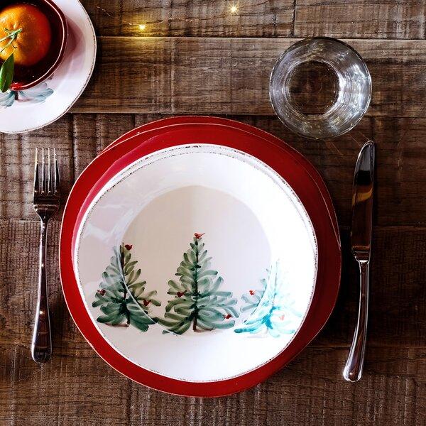 Lastra Holiday Pasta Bowl by VIETRI