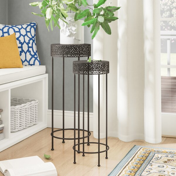 Dangerfield Contemporary 2 Piece Nesting Plant Stand Set by Winston Porter