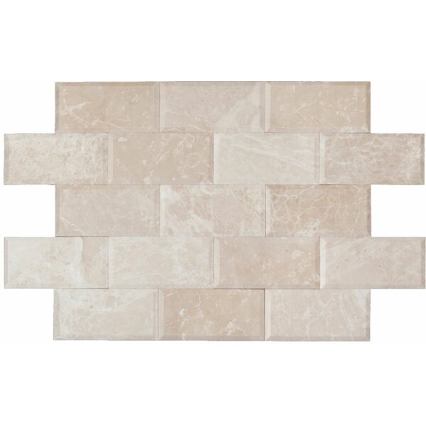 3 x 6 Marble Mosaic Tile in Botticino by Ephesus Stones