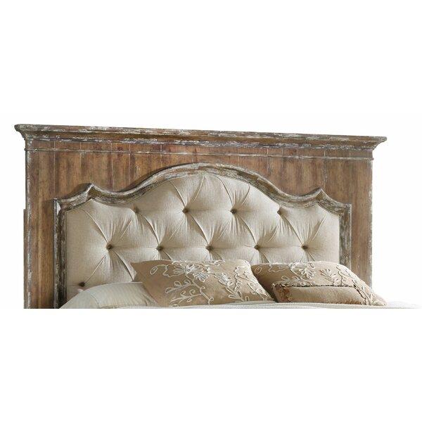 Chatelet Upholstered Mantle Panel Headboard by Hooker Furniture