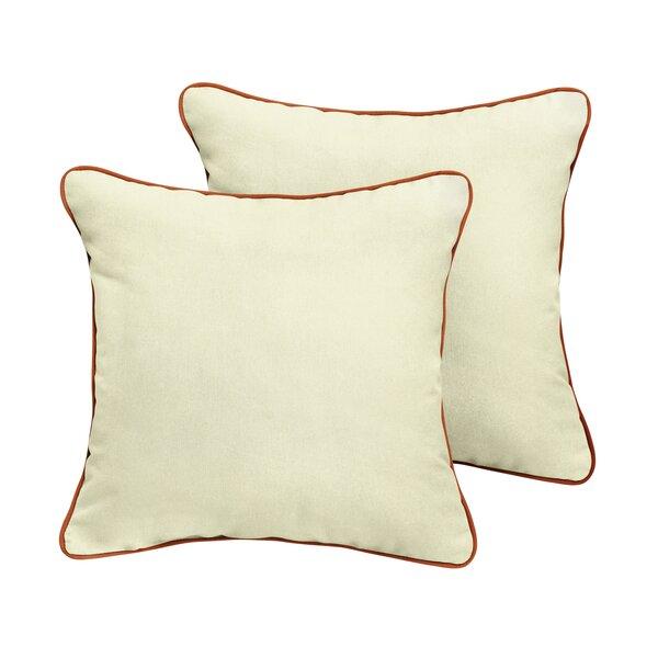 Cretien Sunbrella Outdoor Throw Pillow (Set of 2) by Red Barrel Studio
