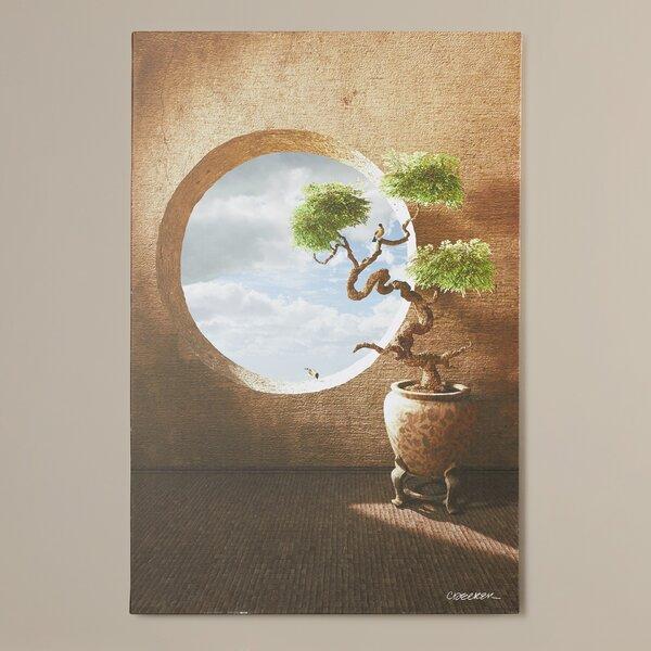 Haiku by Cynthia Decker Framed Photo Graphic Print on Canvas by Charlton Home