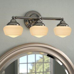 Price Check Sainz 3-Light Vanity Light ByLaurel Foundry Modern Farmhouse