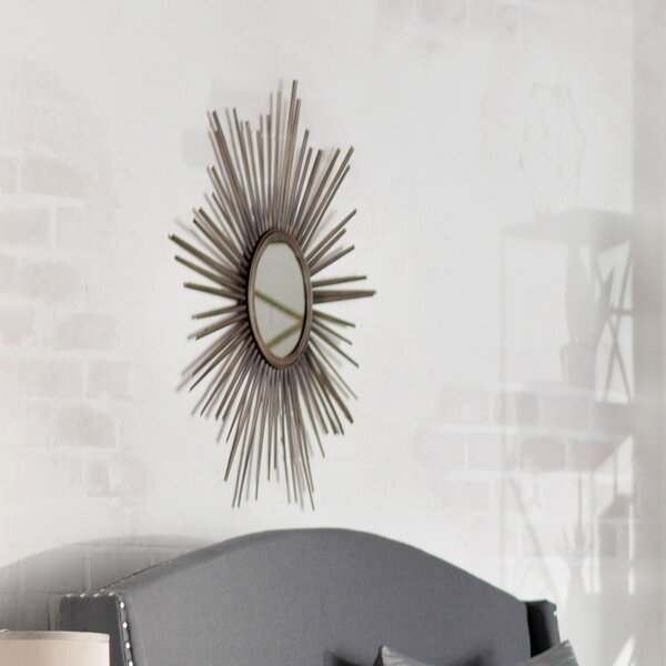Combest Starburst Wall Mirror by Mercury Row