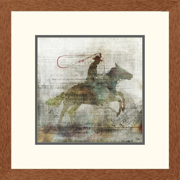 Western Esperanza II by Framed Graphic Art by Global Gallery