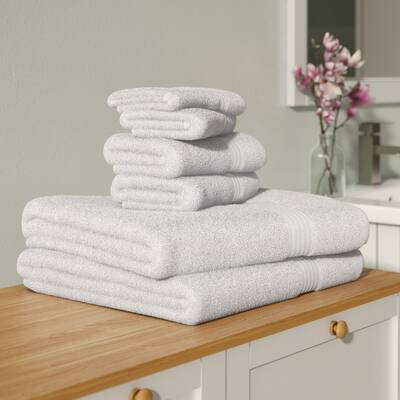 Tommy Bahama Home Tb Cypress Bay 6 Piece 100 Cotton Towel Set