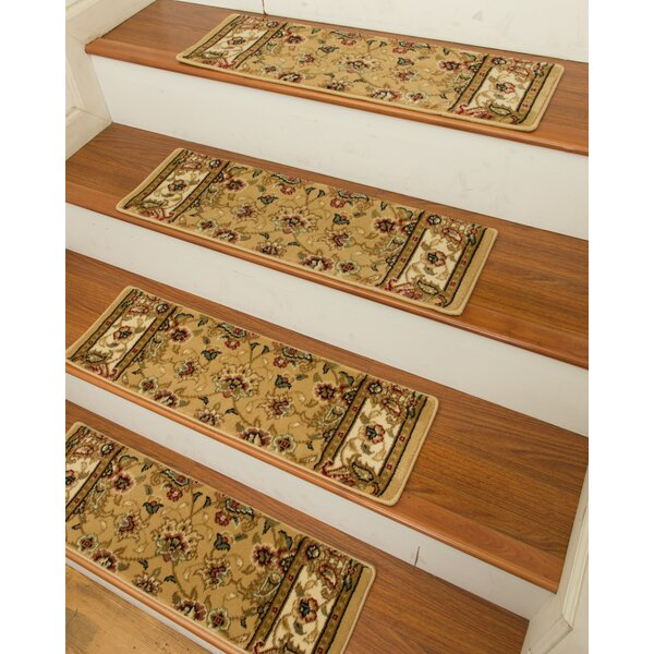 Elise Classic Persian Stair Tread (Set of 13) by Natural Area Rugs