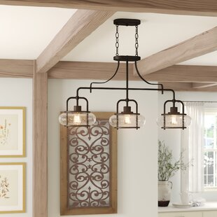 Paulsen 3-Light Kitchen Island Pendant