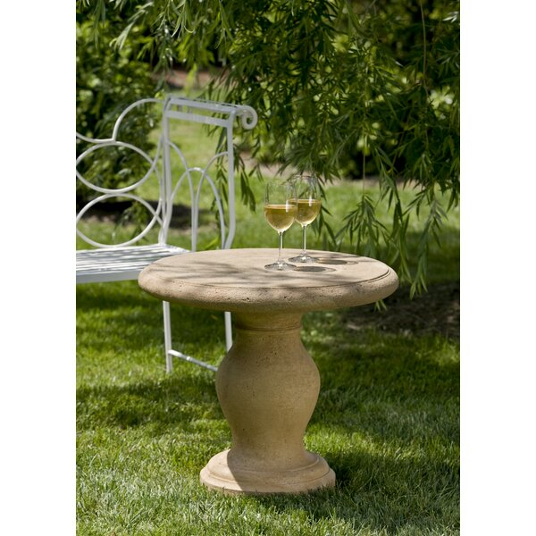 Mcloughlin Stone/Concrete Side Table by Gracie Oaks