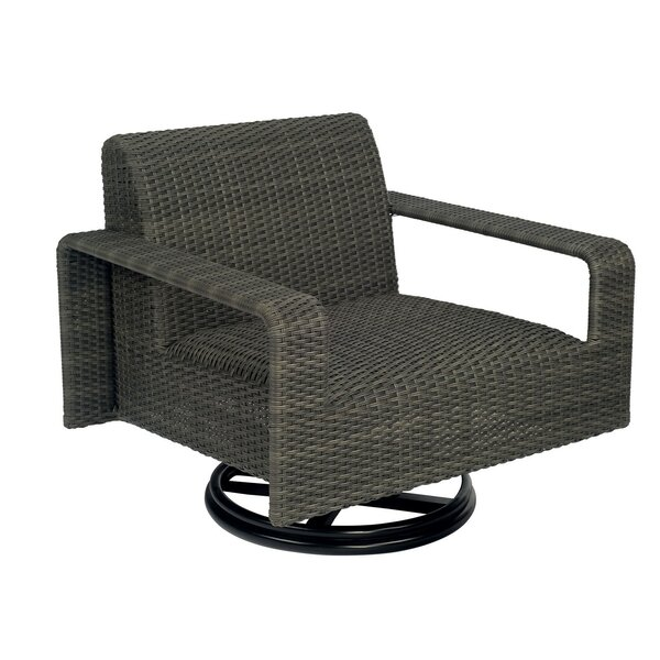 Darville Swivel Patio Chair by Woodard