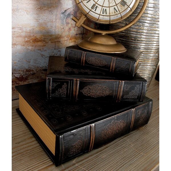 3 Piece Book Decorative Box Set by Cole & Grey