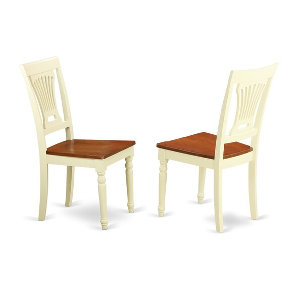 Rutledge Solid Wood Dining Chair (Set of 2) by Beachcrest Home