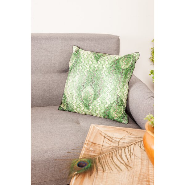 Helsel Modern Pillow Cover by World Menagerie