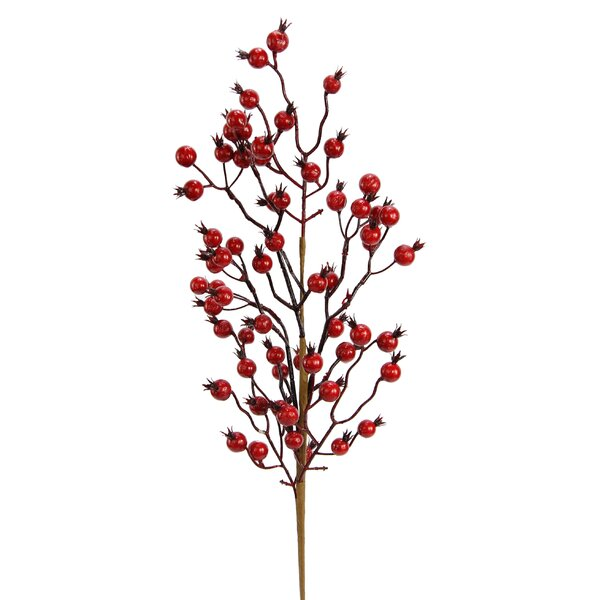 3 Piece Berry Spray Branch (Set of 3) by Loon Peak