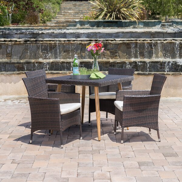 Dimartino 5 Piece Dining Set by Ivy Bronx