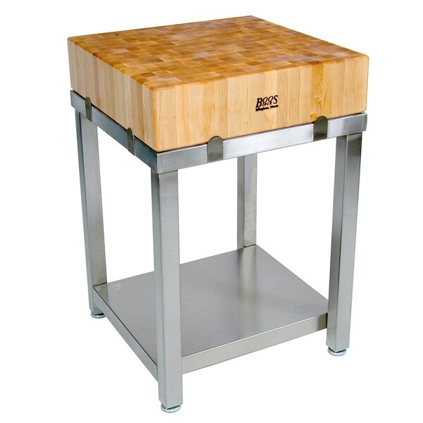 Cucina Americana Butcher Block Top by John Boos