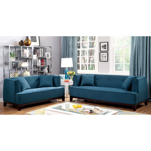 Husman 2 Piece Living Room Set by Brayden Studio
