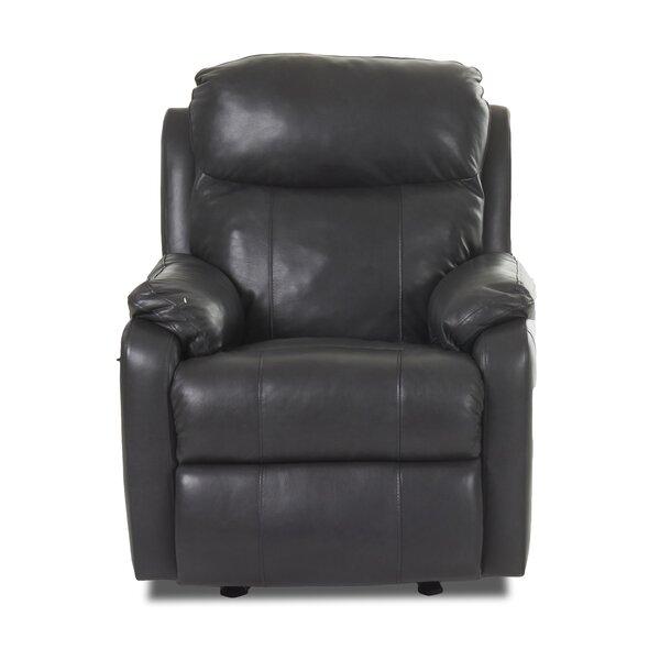Torrance Recliner with Headrest and Lumbar Support Red Barrel Studio RDBS8747